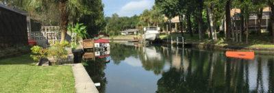 Pilot canal Crystal River